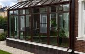 Зимний сад со стеклянной крышей в к.п . Гринфилд,  3х6м, монтаж июль 2018г., конструкция расположена на солнечной стороне, поэтому во избежании перегрева во всём остеклении были применены специальные солнцезащитные рефлекторные стекла stopsool.