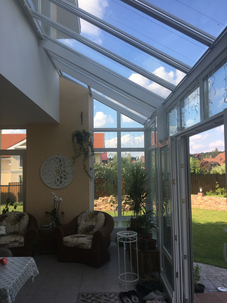 стеклянная крыша на балконе фото