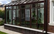 Зимний сад со стеклянной крышей в к.п . Гринфилд, 3х6м, монтаж июль 2018г. .