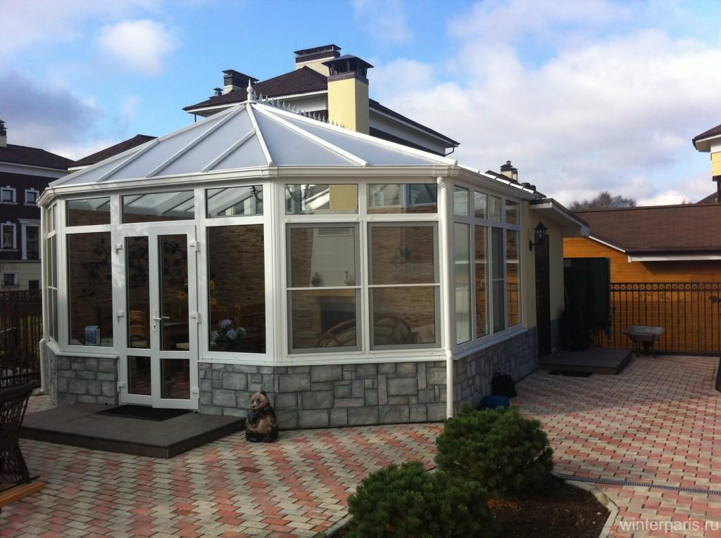 001 1024x765 Сборка крыши зимнего сада